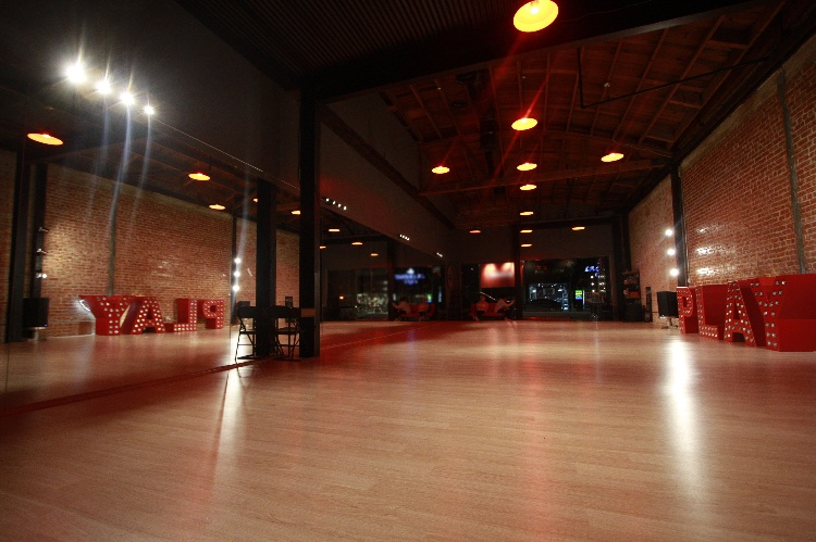 Industrial Style Modern Dance Studio with Brick Walls: Main Studio plus Office space that can be used if needed. Stated rates are for non-business hours only. Schedule changes often, so we will check the availability case by case. Closedown is allowed for extra pay. High ceilings, exposed brick walls and modern yet industrial design. We offer top of the line sound system, along with our hue lighting system providing an array of custom colors easily controlled on dimmers, offering many lighting possibilities. We also offer beautiful track lighting, that sit above the mirrors, and can be shifted in any direction desirable.